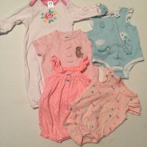 Other - 5 infant onesies